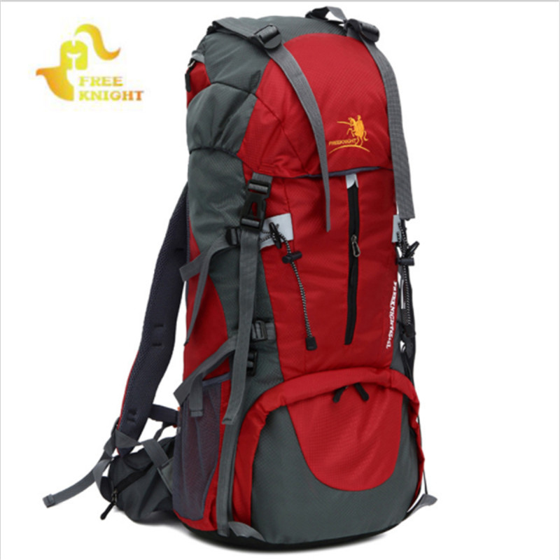 Free Knight 65L+5L Large Capacity Outdoor Sport Climbing Bags Nylon Waterproof Travel Bag Hiking Backpack Camping Backpacks l