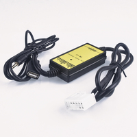 Car CD Adapter MP3 Audio Interface AUX USB CD Changer (5+7)PiN for Toyota Camry Corolla RAV4 Yaris for Lexus IS 200 GS