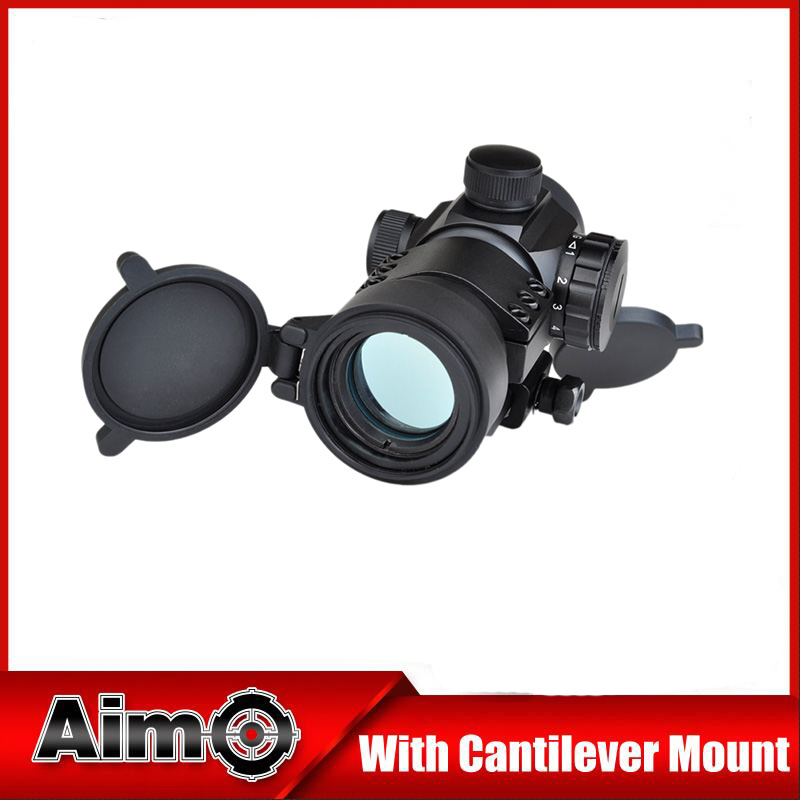 Aim Tactical Hunting Rifle Scope Sight 1X32 Scope 5 MOA Green Red Dot with 20mm Rails