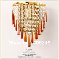 Modern Luxury K9 Lâmpada de Parede de Cristal Ouro/Prata Quarto Iluminação Decorativa Para O Hotel de Cabeceira