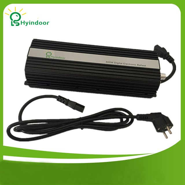 Digital 600w EU PLUG Ballasts for Indoor Garden Planter Grow Lights HPS MH Bulbs Electronic Dimmable