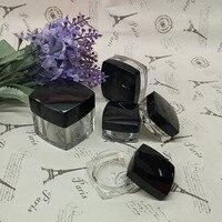 3g 5g 10g 20g Black Cap Square Cream Jar Empty AS Cosmetic Container Eyeshadow Cream Box