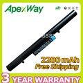 Apexway 2200mAh Laptop Battery For HASEE UN43 UN45 UN47 D2 SQU-1202 SQU-1201 Q480S-i5 D1 Q480S-i7 D2 916T2203H 921600033 CQB-924