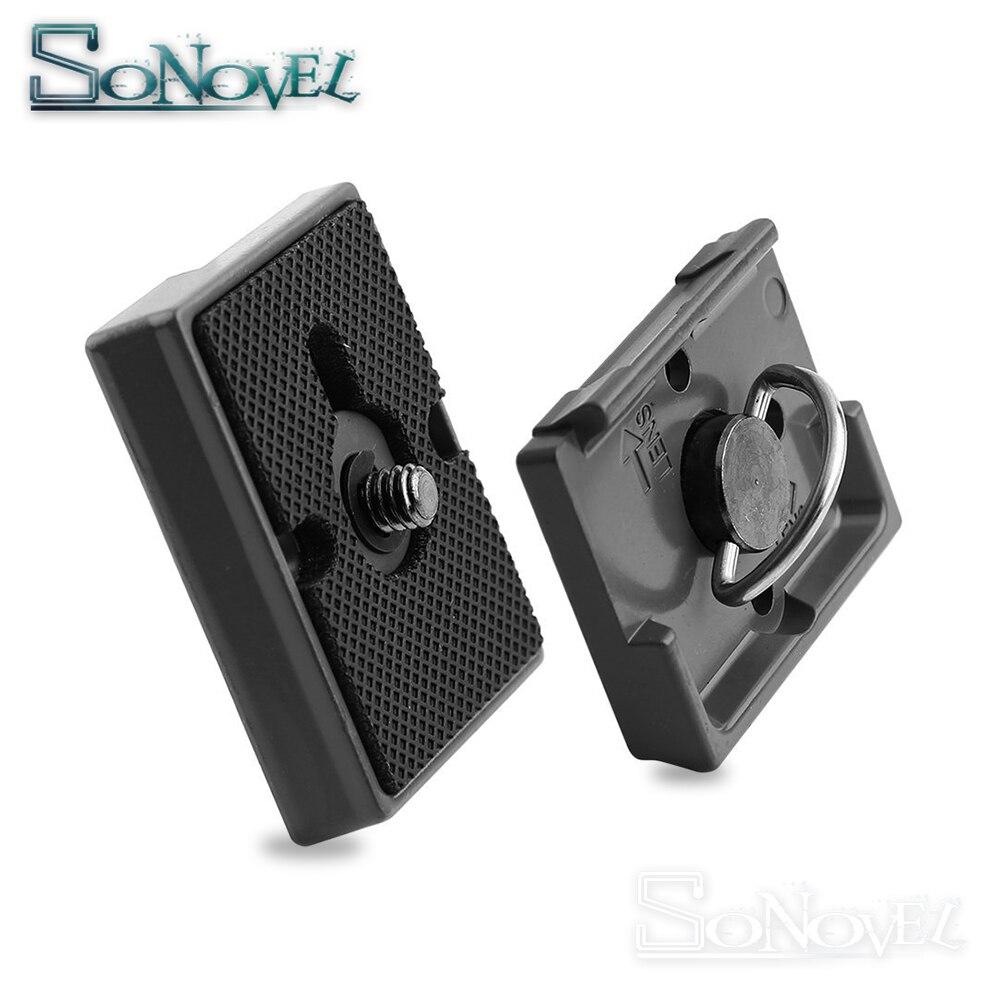Quick Release Plate 200PL-14 PL Compatible for Manfrotto Bogen Tripod Head 496RC2 498RC2 486RC 804RC2 352RC/308RC