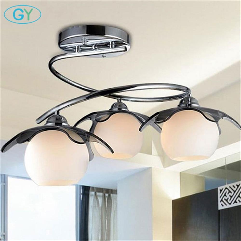 Indoor Ceiling Lights: Modern Spiral LED Ceiling Lights Europe Stylish Restaurant