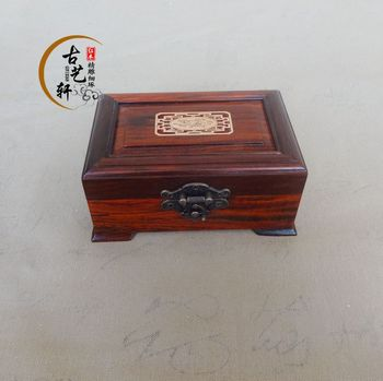 Rosewood rosewood handicrafts, jewelry boxes, Carved Walnut box, box, storage box, exquisite workmanship