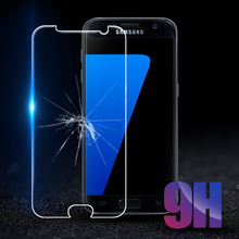 9H Tempered Glass For Samsung Galaxy S6 S7 A3 A5 A7 J3 J5 J7 2016 2017 A5 A8 A7 2018 Prime Screen Protector HD Protective Film все цены