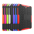 "For Galaxy Tab A 9.7"" Case Heavy Duty Rugged Dual Layer Protective Case Cover w/ Kickstand For Samsung Galaxy Tab A T550 T555"