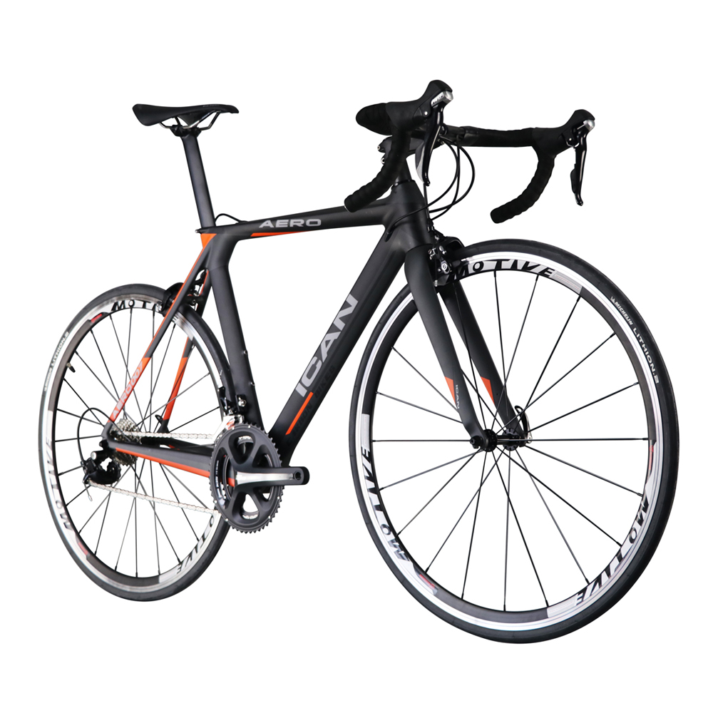 22 speed ICAN carbon road bike racing 700C bisiklet 7.85kg bici ...