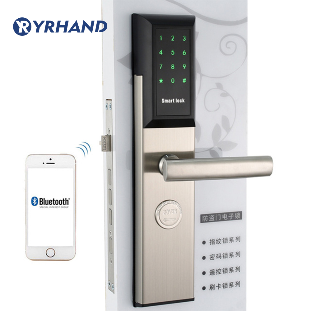 Wifi Smart Digital Safe Door Locks Smart Home Lock password Pin Code Door Digital Lock electronic