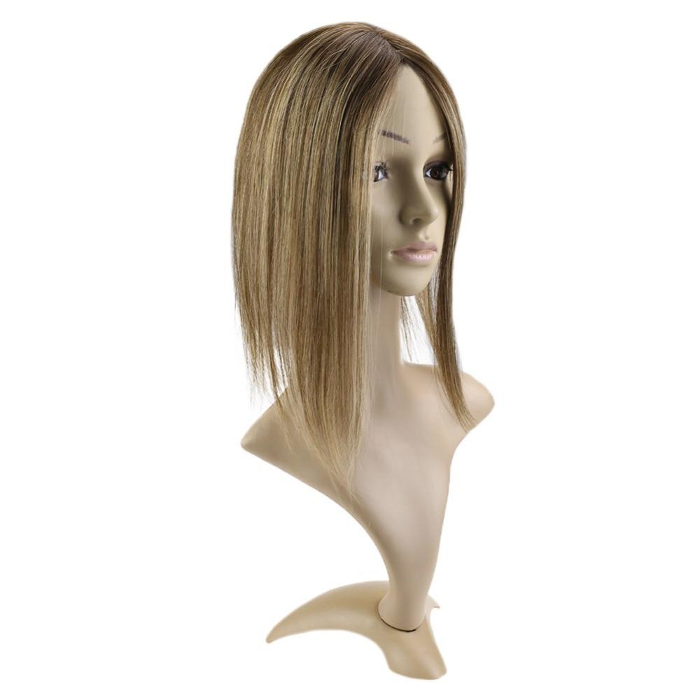 Hstonir Europäischen Remy Haar Topper Toupet Haar Für Frauen Jüdische Topper Haar 613 Verschluss Perücke Kosher Toupet Frauen Tp04 Haarteile Haarteile & Topper