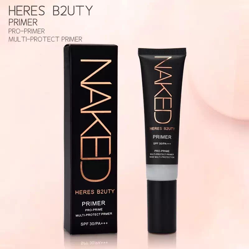 Brand HERES B2UTY Professional Makeup Base Primer Oil Control Pores Concealing Whitening UV Multi Protection Smoothing