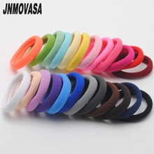 24pcs Hair Scrunchies Girls Headbands Hair Holders Girls Tie Gum Rubber Bands Girls Hair Elastics Accessories Girl Headwear cheap Nylon Spandex Rubber Solid elastics gum 006 Elastic Hair Bands Fashion Children JNMOVASA Hair gum