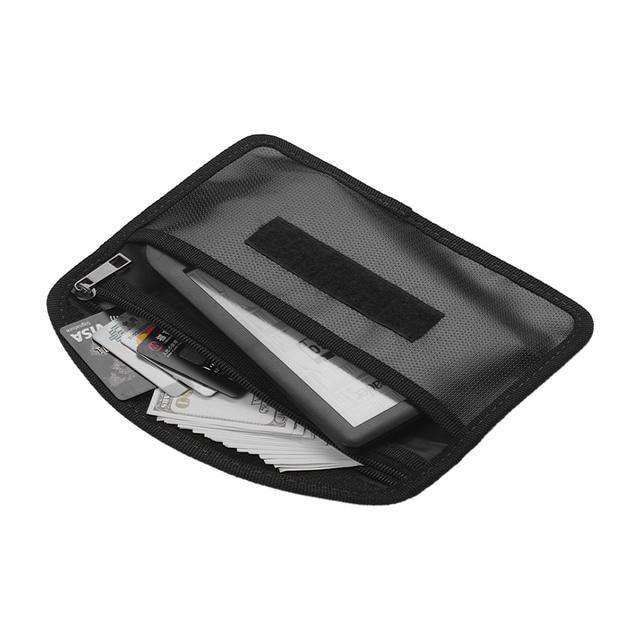 Fireproof Document Bag Heat Resistant Silicone Waterproof Cash Wallet Bags P0P8