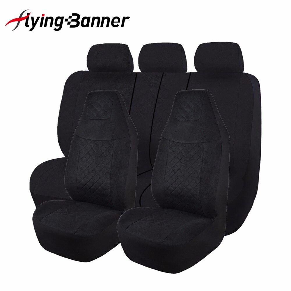 Tela de terciopelo moteado cubierta de asiento de coche Universal - Accesorios de interior de coche - foto 1