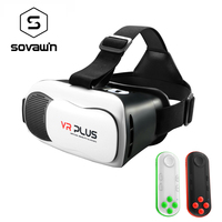 Shinecon VR 3D Glasses Virtual Reality Vr Headset Cardboard Game BOX Private Theater For 4 6