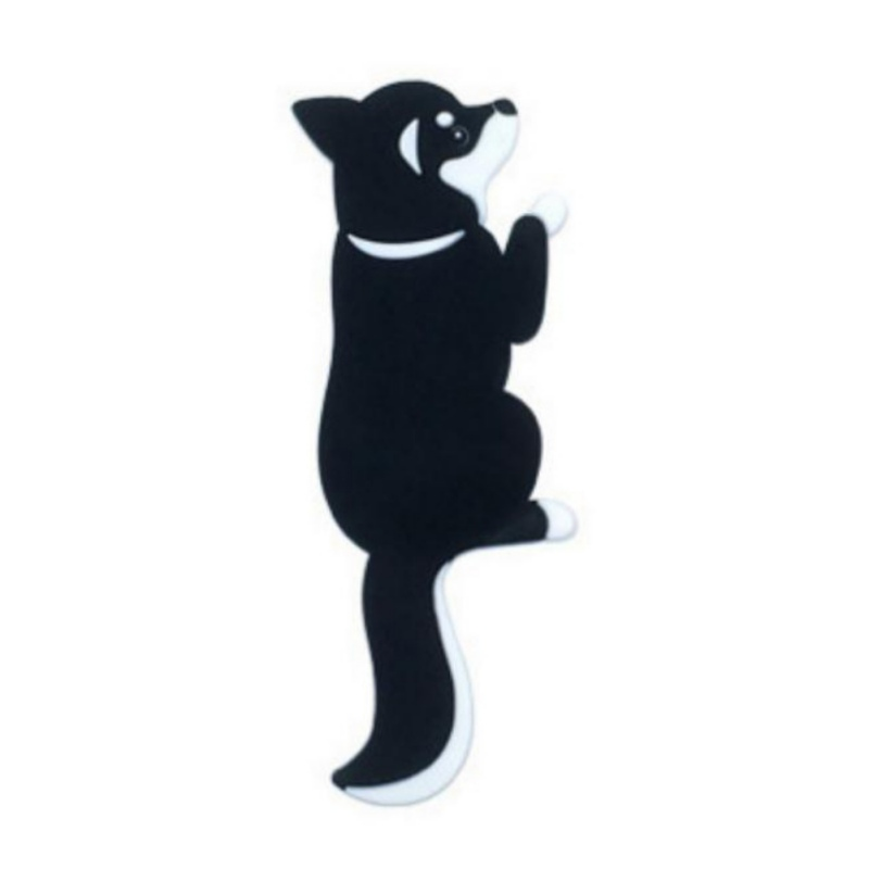 Cute Multi-purpose Hook Cat Dog Magnetic Wall-hung Key Fridge Sticker Refrigerator Magnet Hook Door Home Decorations