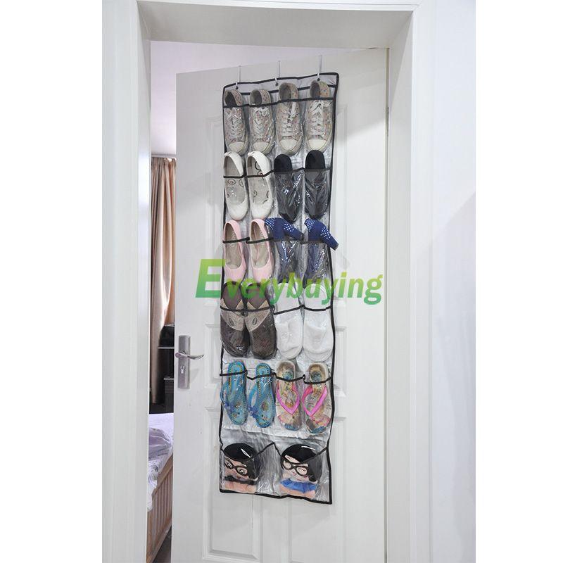 22 pocket vogue door hanging holder shoe organiser storage rack wall bag hsln