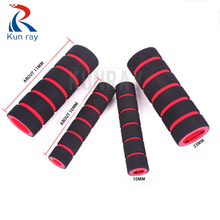 1Set 4pcs Bike Racing Bicycle Handle Bar Foam Sponge Grip Cover Cycling Non-Slip Handbar Cover Motorcycle Handlebar Grip Set