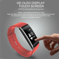 Smartband Blood Pressure Oxygen Heart Rate Monitor Fitness Tracker Sleep Monitor Sport Wrist Bracelet For