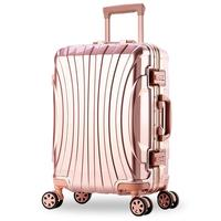 202224262829inch Aluminum alloy frame business trip travel malas de viagem com rodinhas trolley suitcase carry on luggage