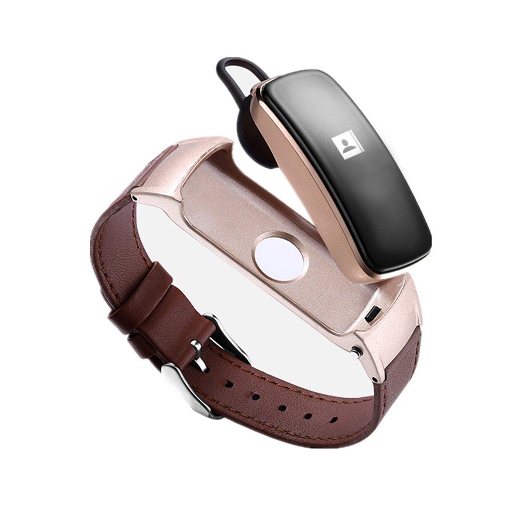 2-in-1 Smart Uhr Headset Gk-b3 Plus Multifunktionale Smart Armband Musik Player Zifferblatt Sprechen Gesundheit Monitor Für Ios Android