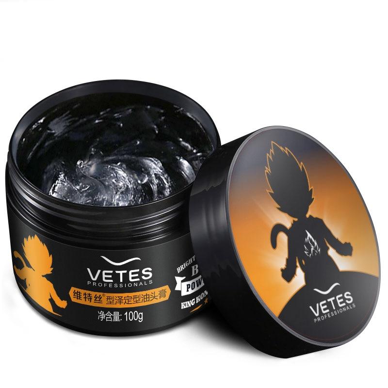 Hair-oil hair wax male pomade shaping hair spray long lasting moisturizing fragrance water based pomade cream #866(China)