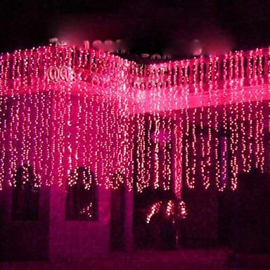 ano novo 220 v 6x3 m guirlanda led luzes de natal ao ar livre decoracao