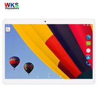 WKS 10 1 Inch Tablet PC Android 4 4 Core 4GB RAM 16GB ROM 5MP WIFI