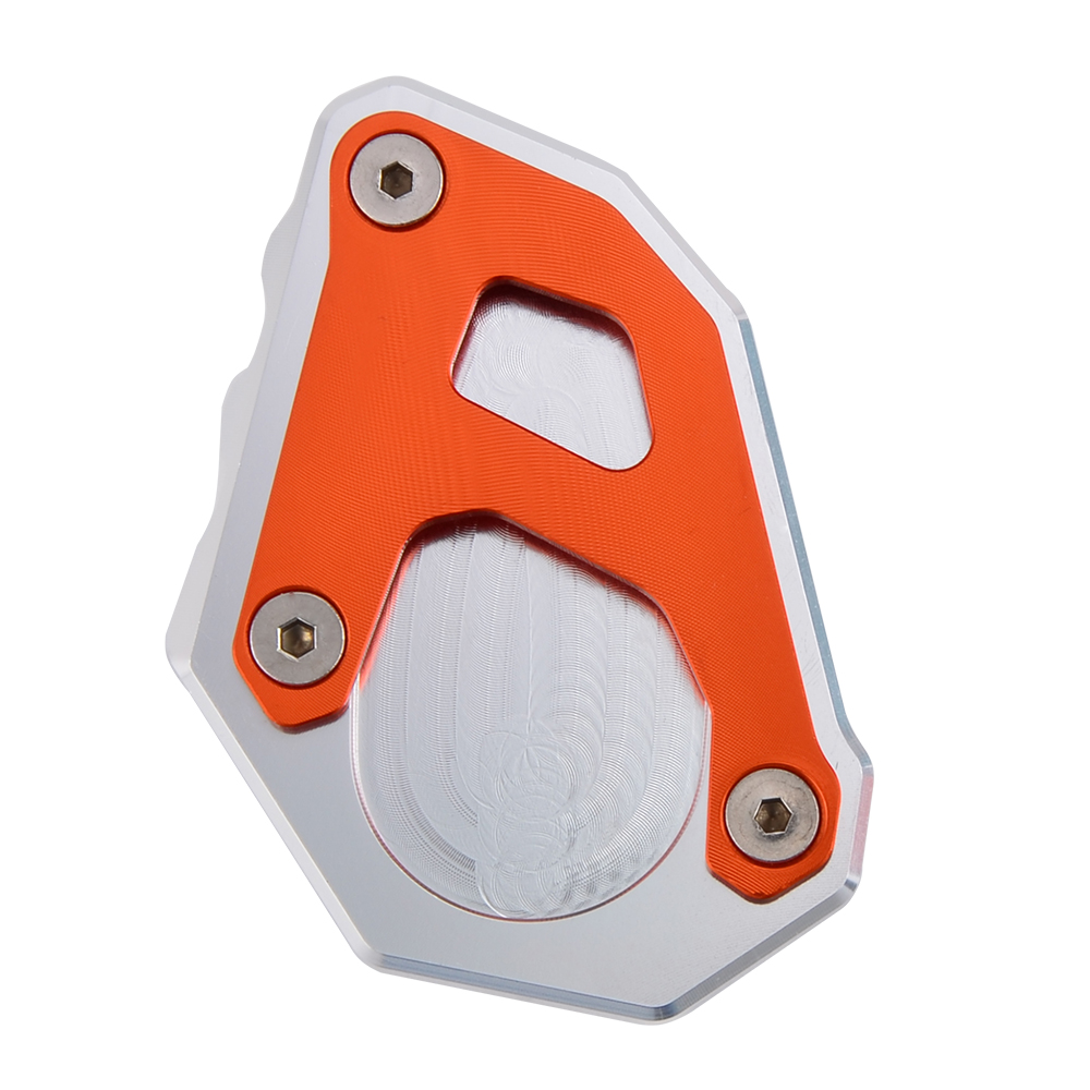 Foot Side Kickstand Enlarge Parking Kick Stand Extension Pad Plate Pedal For For KTM 1050 1090 1190 1290 2014 2019 in Stands from Automobiles Motorcycles