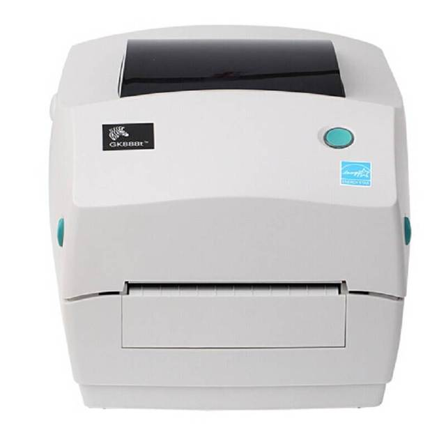 Zebra printer Gk888t/cn thermal printer adhesive express electronic face barcode printing