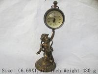 çince eski bakır mekanik saat zamanlayıcı asil çocuk