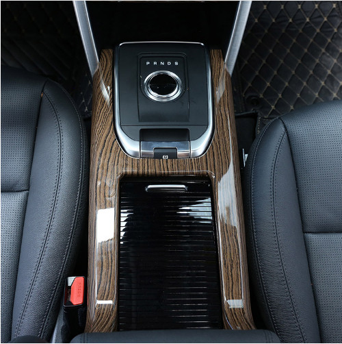 2018 Land Rover Discovery Interior: Sands Wood Grain Style ABS Plastic Car Interior Molding