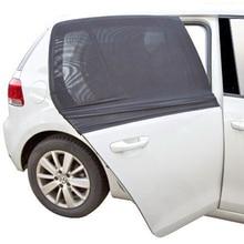 2PCS/set Auto Car Window Sun Shade Mesh Black Car Cover Visor Shield Sunshade UV Protection Drop Shipping