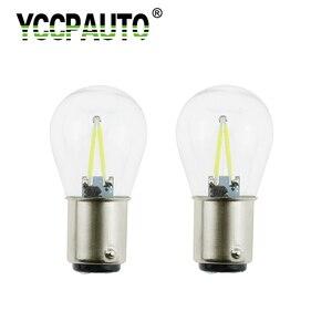 Светодиодные лампы YCCPAUTO, 2 шт., 1157 светодиодов, Bay15d p21/5 Вт