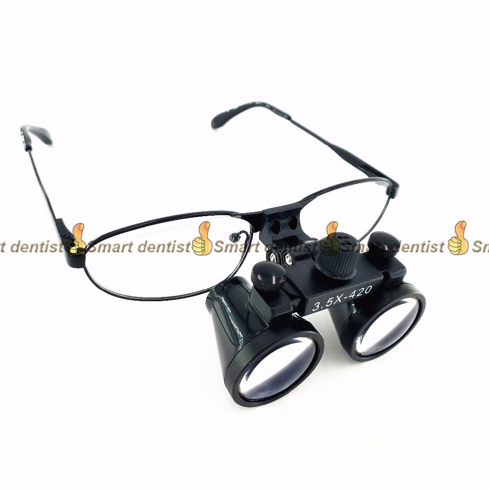 2016 nouvelles Loupes binoculaires dentaires 3.5x grossissant les lunettes chirurgicales optiques 420mm2016 nouvelles Loupes binoculaires dentaires 3.5x grossissant les lunettes chirurgicales optiques 420mm