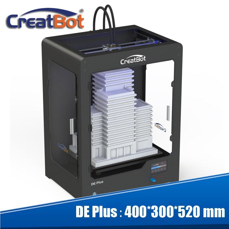 Nejnovější Creatbot DE plus 01 3D tiskárna velkoformátový 400 * - Kancelářské elektroniky