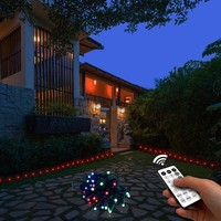DCOO 32LED Remote Control Insert Lamp UL588 String Lights Christmas Fairy Lights Lawn Garden Outdoor Home For Wedding Decoration