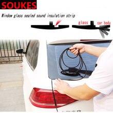 Резиновая звукоуплотнительная полоса на лобовое стекло автомобиля