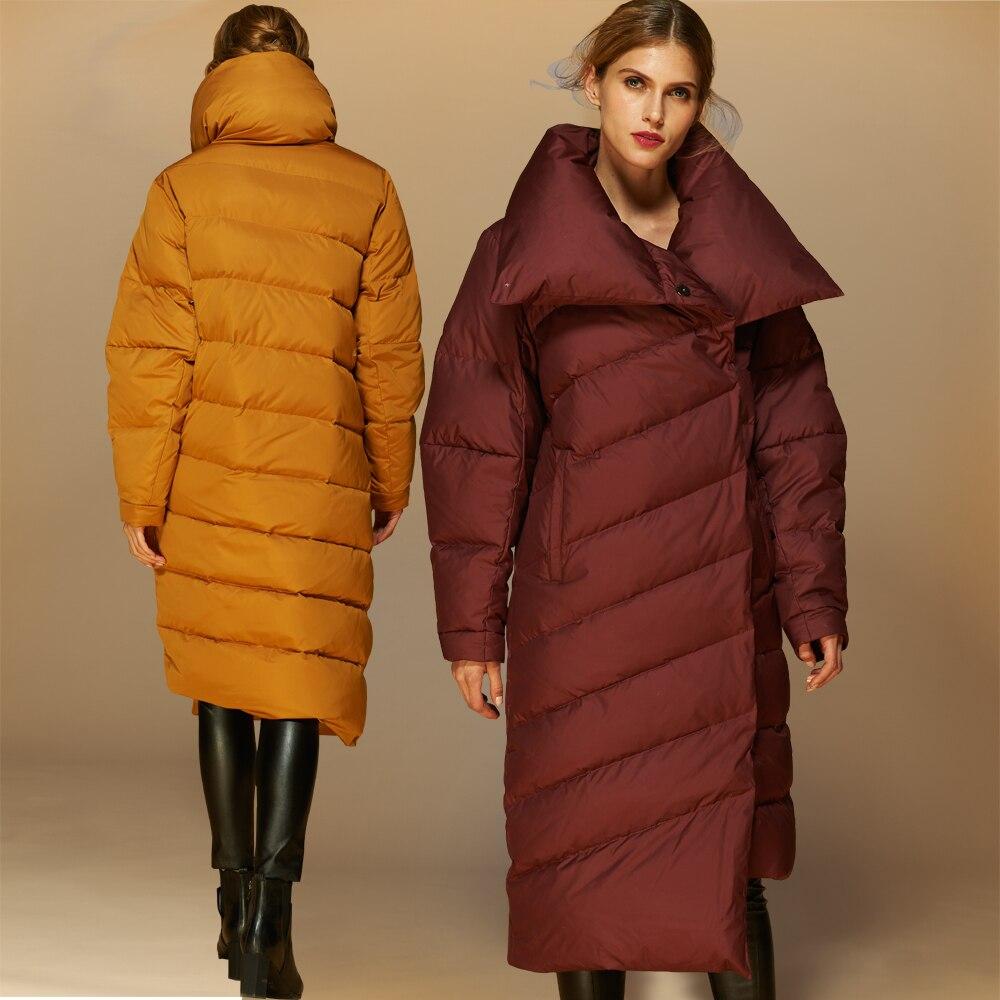 Womens long down jackets on sale