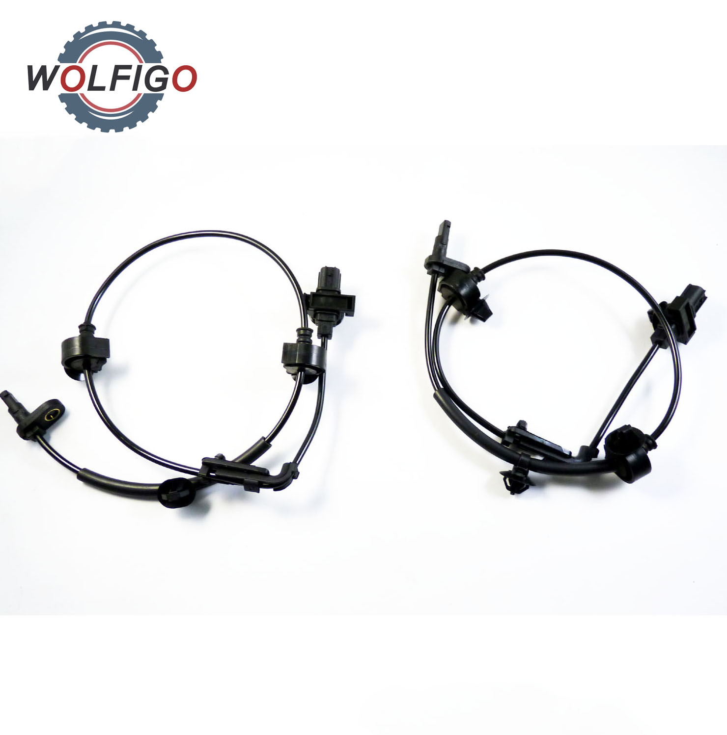Wolfigo 2pcs New Front Left Front Right Abs Wheel Speed