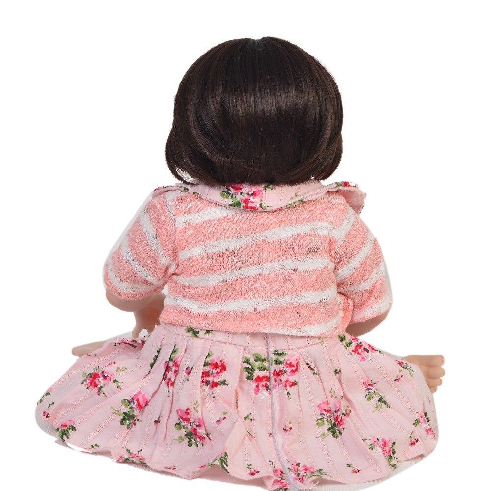 Oyuncaklar ve Hobi Ürünleri'ten Bebekler'de KEUIMI Koleksiyon Yeniden Doğmuş Bebek Bebek Tam Vücut Silikon Gerçekçi Beyaz Cilt Prenses Kız Bebek Için bebek Çocuk Noel Hediyeleri'da  Grup 3