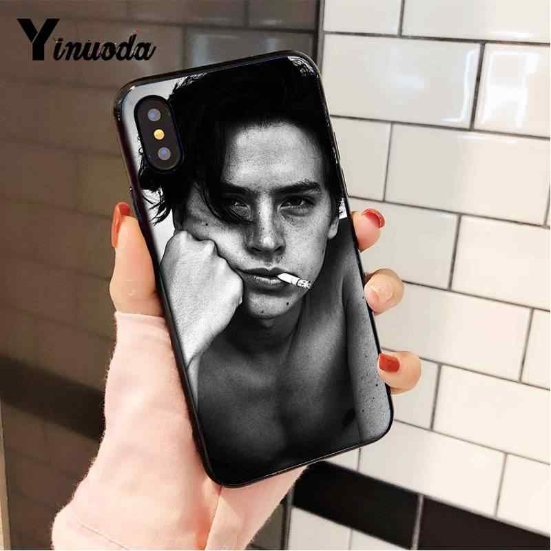 Yinuoda TV Riverdale Jughead cole Cool Boy Popular Black TPU Soft Phone Case for iPhone 8 7 6 6S 6Plus X XS MAX 5 5S SE XR 10