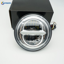 Moto Accessories 5-3/4 LED Headlight 5.75 inch 12V 24V Headlamp High/Low Daytime running lights for Dyna 883 motorcycle