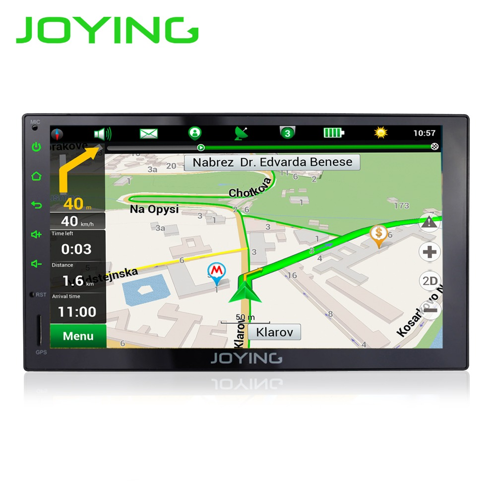 Best JOYING Android Car Stereo Quad Core 1024*600 7 2 Din Android 6.0 Car Radio Universal Head Unit GPS Navigation