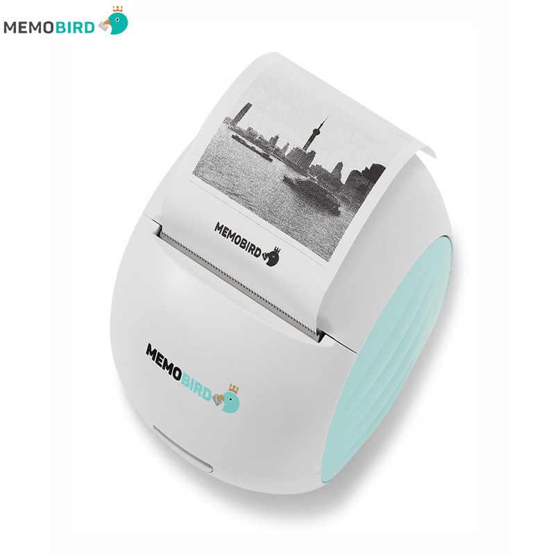 Lnternational edition memobird g2 nova impressora portátil impressora wifi telefone remoto sem fio impressora de código de barras foto impressora térmica