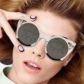 2017 Fashion Sunglasses Women Sun Glasses Ladies Vintage Brand Designer For Female Photochromic UV400 Lunettes Oculos YQ243