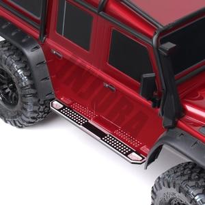 Image 5 - INJORA 2PCS TRX4 Metal Pedal Rock Sliders Board for 1/10 RC Crawler Traxxas TRX 4 Trx 4 Upgrade Parts