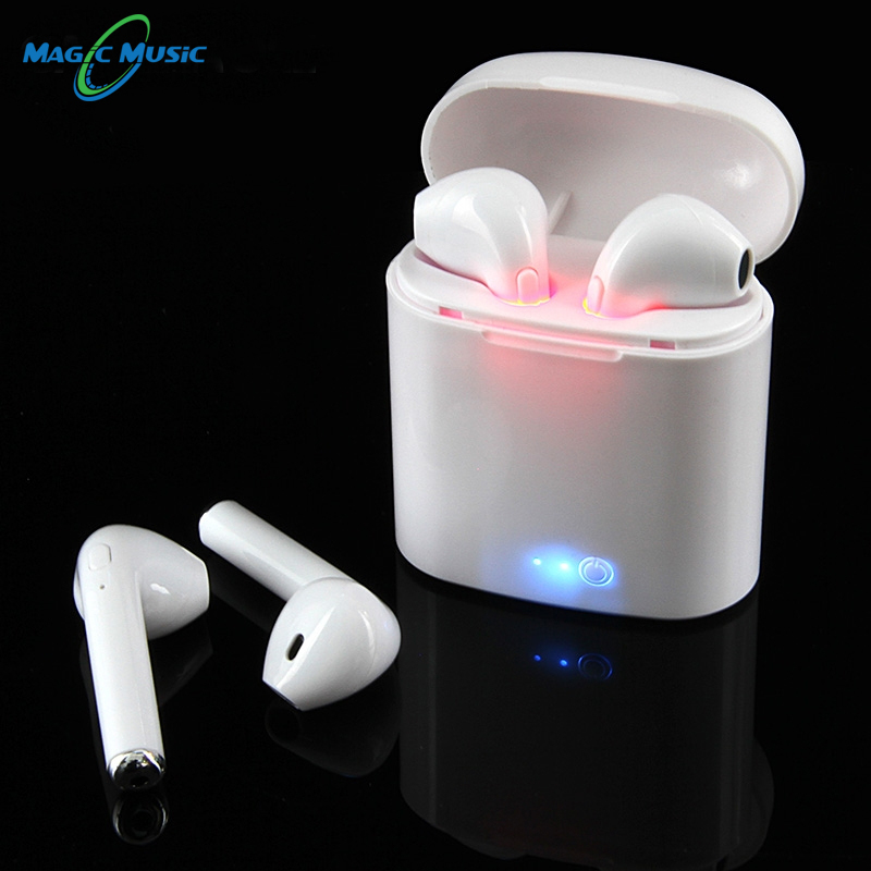 I7s TWS Mini Wireless Bluetooth Earphone Stereo Earbud Headset Mic For Iphone Xiaomi All Smart Phone I10 I12