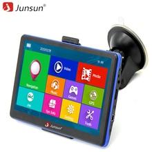 Junsun 7 inç HD Araç GPS Navigasyon navigasyon FM MP3/MP4 Çalarlar Rusya/Avrupa Haritası Ücretsiz Yükseltme Kamyon gps Sat nav otomobil